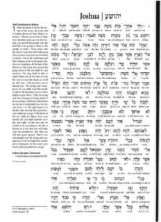 ESV Interlinear Hebrew - English Old Testament (Bible) - 2 of 4