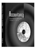 NCERT Class 11 Accountancy Part 2