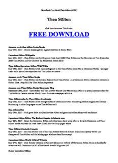 [PDF] thea stilton.pdf