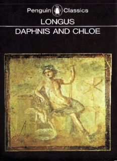 Daphnis and Chloe (Penguin Classics)