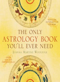 The Only Astrology Book Youll Ever Need