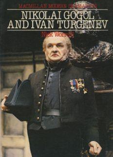 Nikolai Gogol and Ivan Turgenev