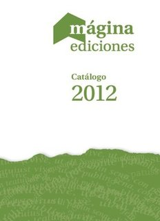 Catálogo Mágina 2012 - Editorial Octaedro