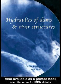 Hydraulics of dams and river structures : proceedings of the International Conference on Hydraulics of Dams and River Structures, 26-28 April 2004, Tehran, Iran