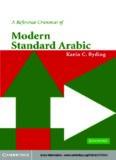 A Reference Grammar of Modern Standard Arabic (Reference Grammars)