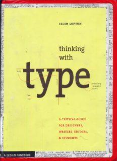Thinking With Type Ellen Lupton 2010