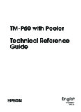 TM-P60 with Peeler Technical Reference Guide