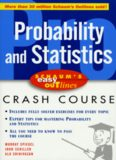 Probability and statistics : based on Schaum's Outline of probability and statistics by Murray R. Spiegel, John Schiller, and R. Alu Srinivasan