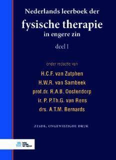 Fysische therapie in engere zin 2