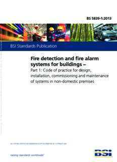 Fire detection and fire alarm systems for buildings
