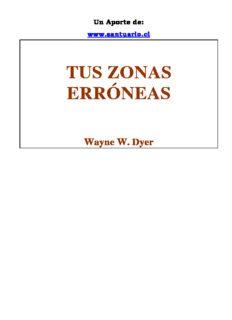 Tus Zonas Erroneas