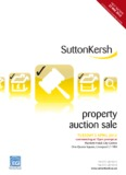 FOR SALE property auction sale - Sutton Kersh