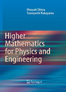 Higher Mathematics for Physics and Engineering: Mathematical Methods for Contemporary Physics