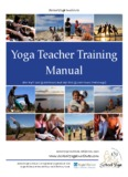 Yoga Teacher Training Manual - Brihaspati.net