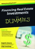 Financing Real Estate Investments For Dummies (For Dummies (Business & Personal Finance))