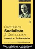 Capitalism, Socialism and Democracy - Daum