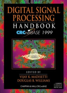 Digital Signal Processing Handbook