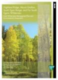 Highland Ridge, Mount Grafton, South Egan Range, and Far South Egans Wilderness