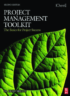 Project Management Toolkit: The Basics for Project Success (Project Management Toolkit)