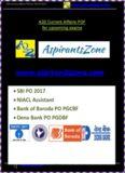 to Download GA Capsule for SBI PO, NIACL, BOB PO, Dena Bank PO