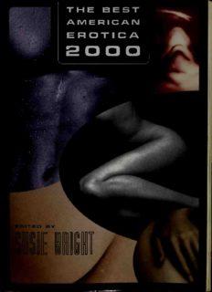 The Best American Erotica 1996