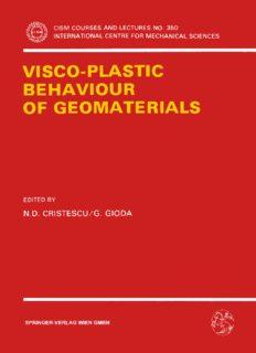 Visco-Plastic Behaviour of Geomaterials