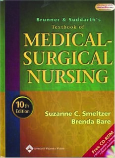 Brunner and Suddarth's Textbook of Medical-Surgical Nursing 10th ed