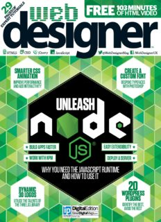 Web Designer 253 - 2016 UK
