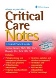 Critical Care Critical Care Notes