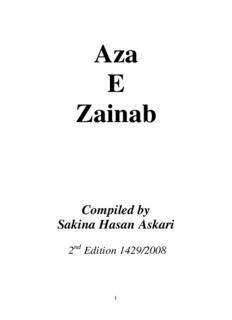 Aza E Zainab