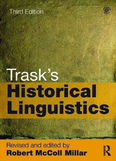Trask's Historical Linguistics