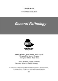 General Pathology - The Carter Center
