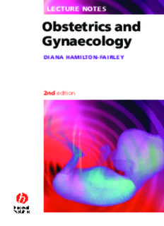 Lecture Notes: Obstetrics and Gynaecology - vstudentworld