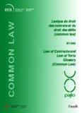 Lexique du droit des contrats et du droit des délits (common law)