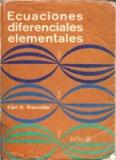 Ecuaciones Diferenciales Elementales-Rainville