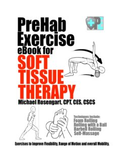 PreHab Exercise Book for Soft Tissue Therapy Exercises to Improve Flexibility, Range of Motion and overall Mobility