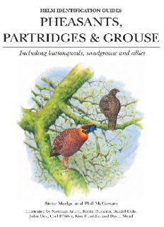 Pheasants, Partridges and Grouse: Including Buttonquails, Sandgrouse and Allies