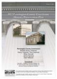 1922 Pennington County Courthouse Historic Preservation Plan 1922 Pennington County ...