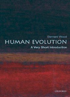 Human Evolution: A Very Short Introduction (Very Short Introductions - 142)