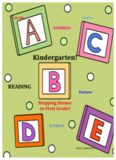 48 Math + Phonics worksheets! Kindergarten
