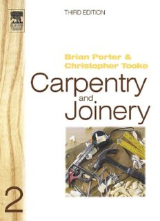 Carpentry and Joinery 2, Third Edition (Carpentry & Joinery)