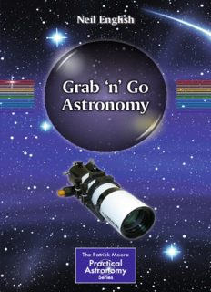 Grab 'n' Go Astronomy (Patrick Moore's Practical Astronomy)