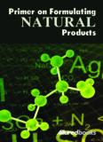 Primer on Formulating NATURAL - Cosmetic Chemists Corner