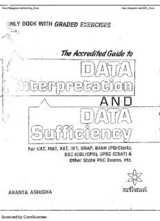 Data Interpretation for CAT by Arihant Publication