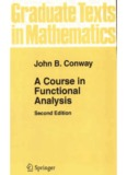 John B. Conway A course in functional analysis 1997.pdf