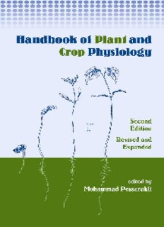 Handbook of Plant and Crop Physiology