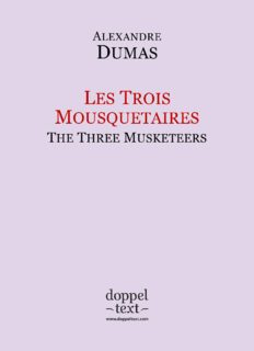 Les Trois Mousquetaires / The Three Musketeers - Bilingual French-English Edition / Edition bilingue français-anglais (French Edition)