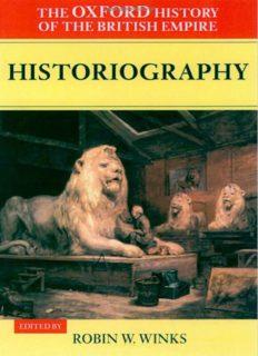 Oxford History of the British Empire, Vol. 5 (Oxford, 1999)