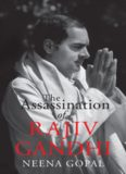 The assassination of Rajiv Gandhi
