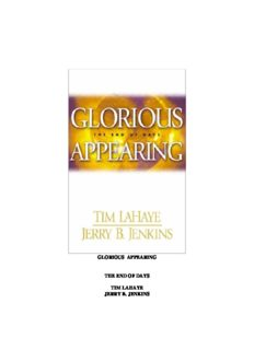 Tim Lahaye & Jerry Jenkins - Left Behind Series 12 - Glorious Appearing